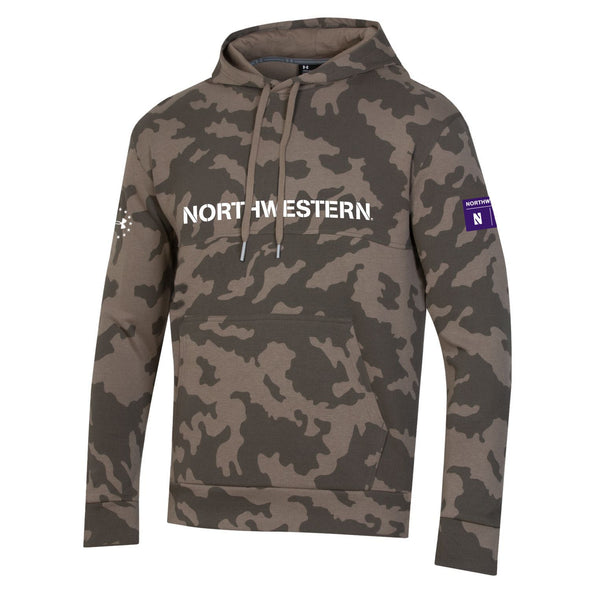 Northwestern Wildcats Under Armour Military Hood