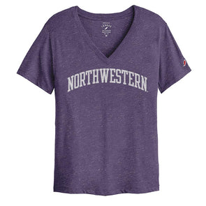 Northwestern Wildcats Ladies Intramural Boyfriend V Tee
