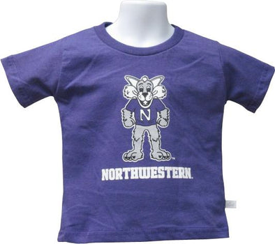 Northwestern Wildcats Willie Toddler Tee