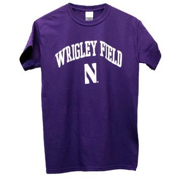 Northwestern Wildcats Wrigley Field N T-Shirt