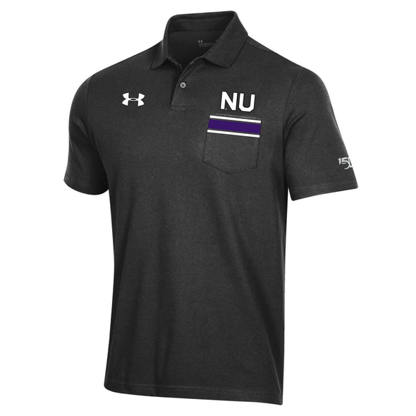 Northwestern Wildcats Under Amour College Football  150th Anniversary  Polo