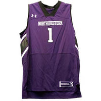 Northwestern Wildcats Under Armour® Youth #1 Basketball Replica Jersey