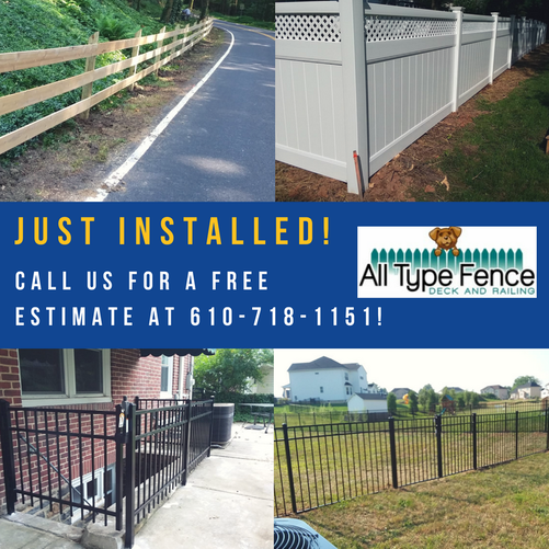 New All Type Fence Projects