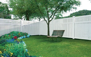 Spring Cleaning…a Vinyl Fence