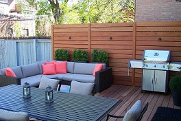 Privacy Panels for Outdoor Spaces