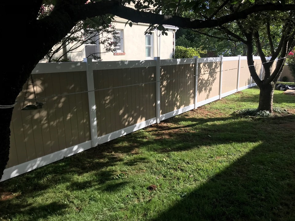 Vinyl Fence Installation in King of Prussia