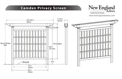 Camden Privacy Screen
