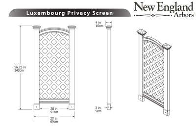 Luxembourg Privacy Screen