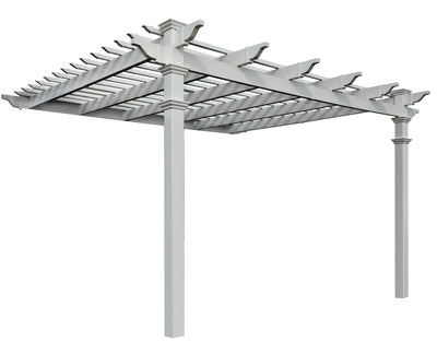 Freemont Attached Pergola