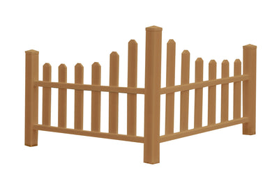 New England Arbors Composite Country Corner Picket