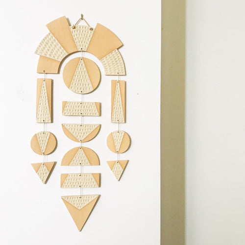 Arch Wall Hanging by The Great Escape Studio Rose City Goods Handmade in San Fransisco Ethically Made Big Sur Vibes Sustainably Made Wall Decor