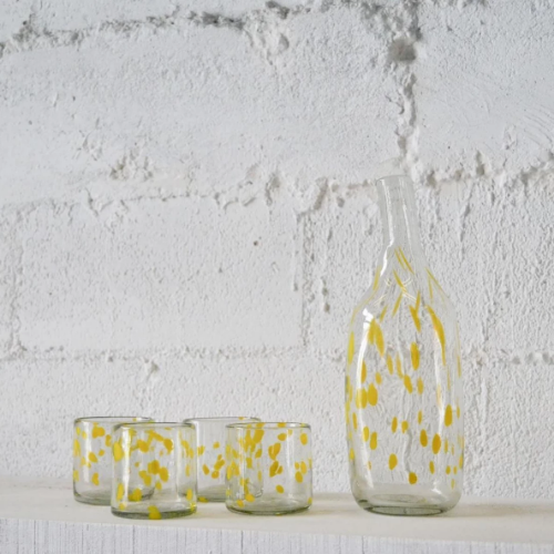 Dotted Jug | Yellow