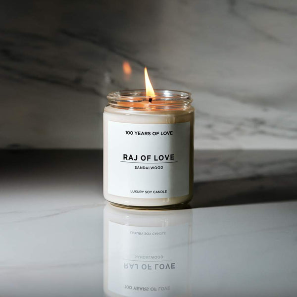 Raj of Love Soy Candle