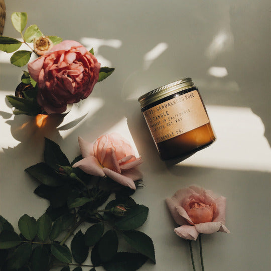 Sandalwood Rose | Soy Candle