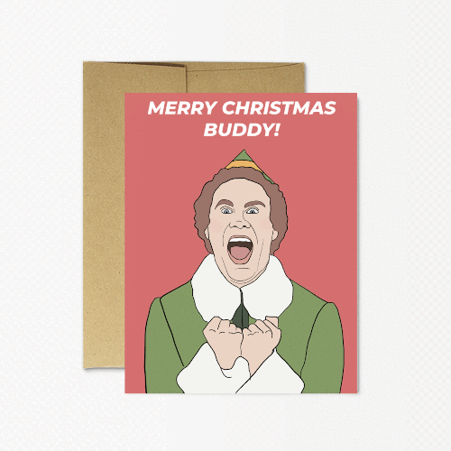 Buddy Elf Card