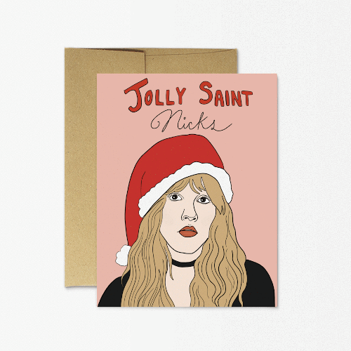 Jolly Saint Nicks Card
