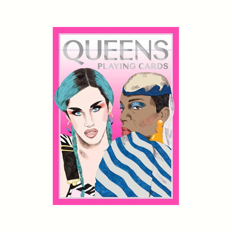 Drag Queen Playing Card Rose City Goods Deck of 55 Cards 18 Illustrations Featuring Iconic Queens