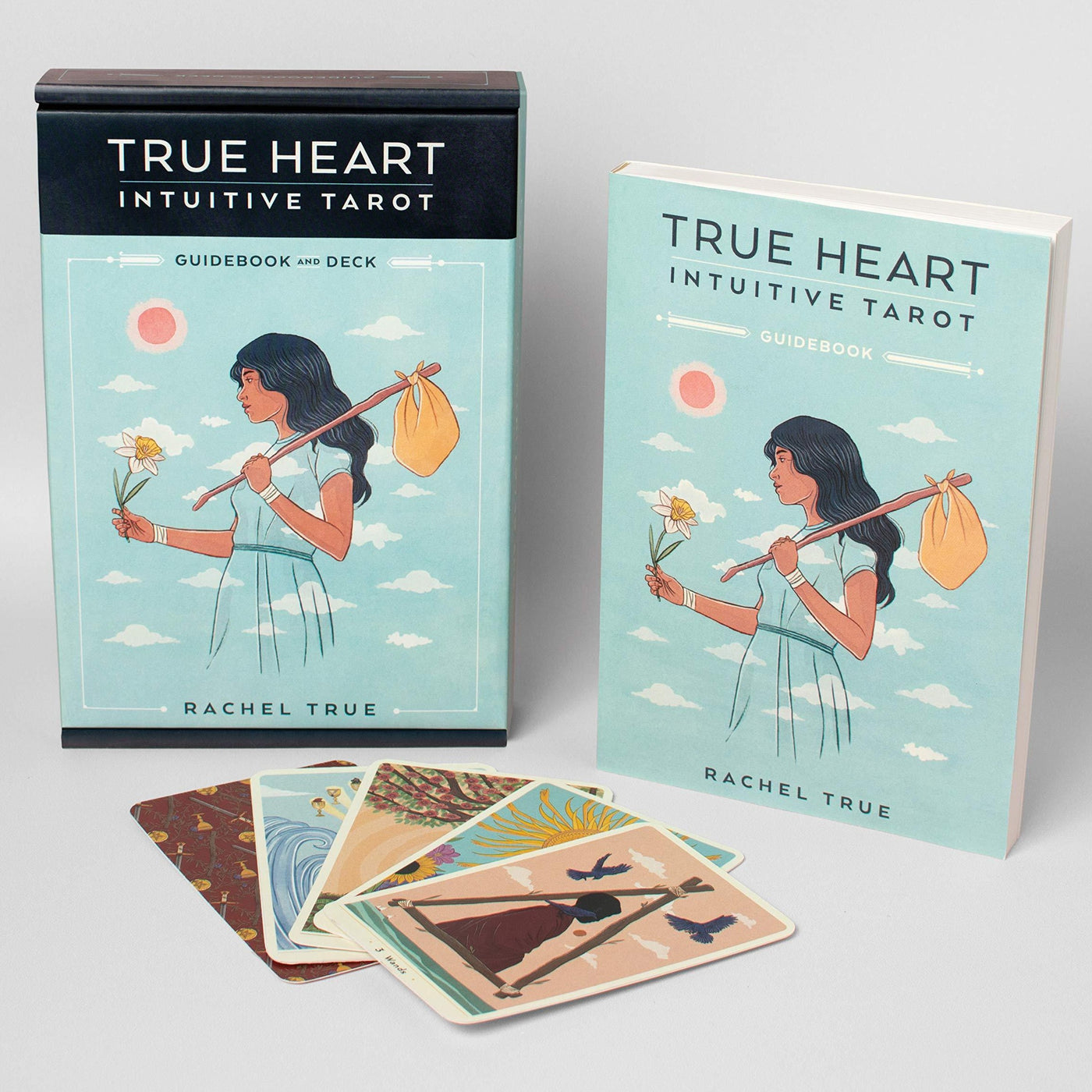 True Heart Intuitive Tarot Rachel True Rose City Goods The Craft Tarot Intuition Tarot Deck and Guidebook