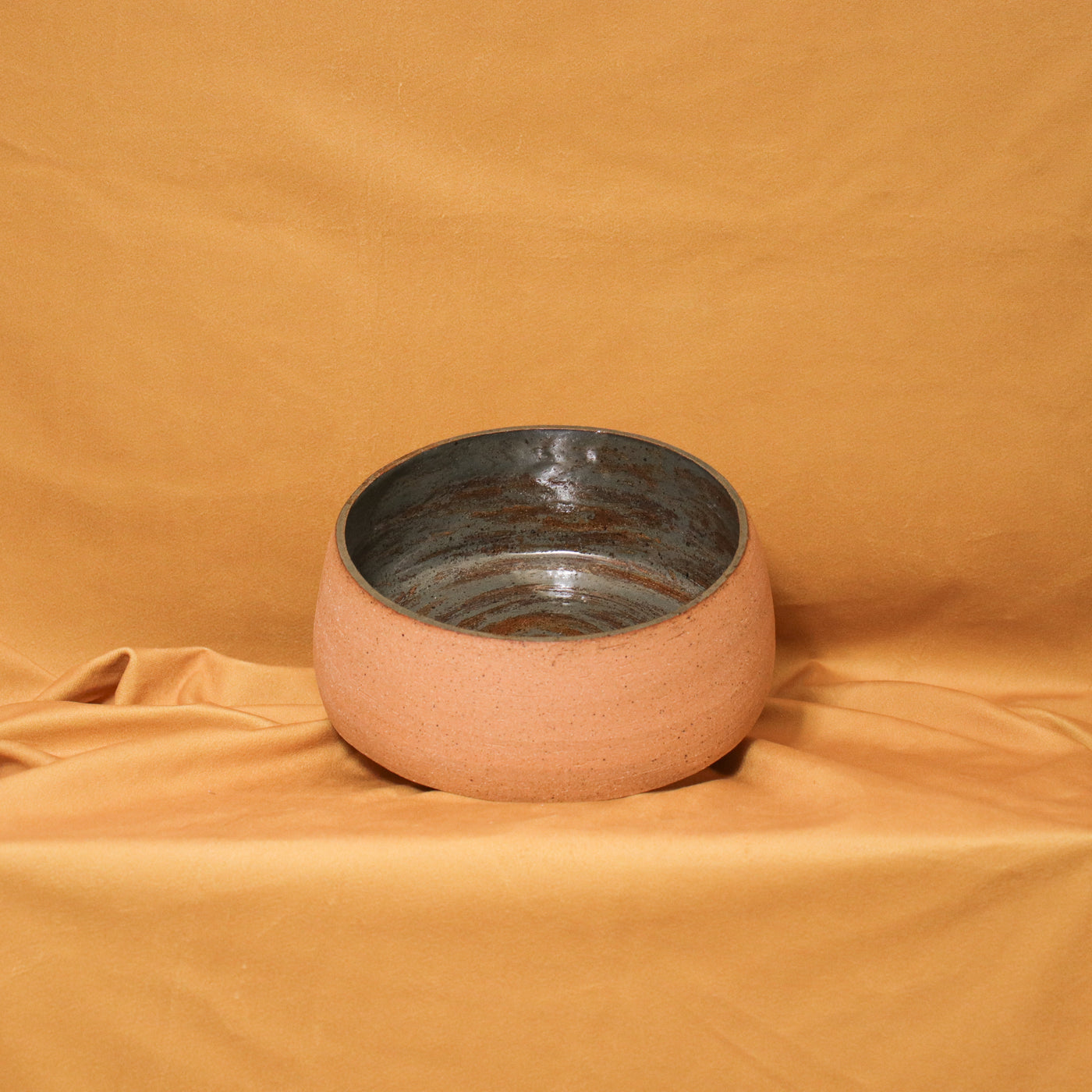 Vicky Makes Things Desert Bowl Rose City Goods Food Safe Glaze Bisqueware Exterior Handmade in Toronto Ontario Women-Led Business