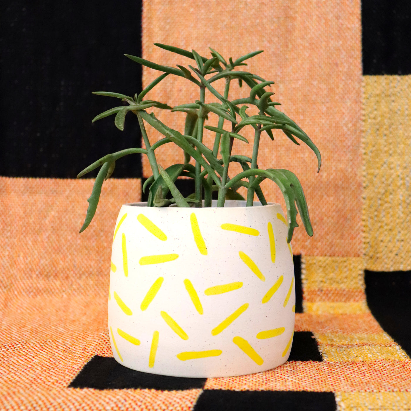 Speckled Stoneware Planter | Small
