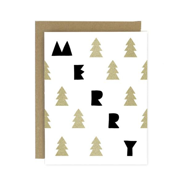 Merry Trees Card
