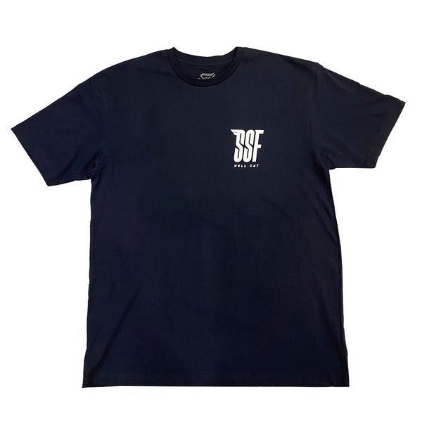 Hell Cat T-Shirt NAVY