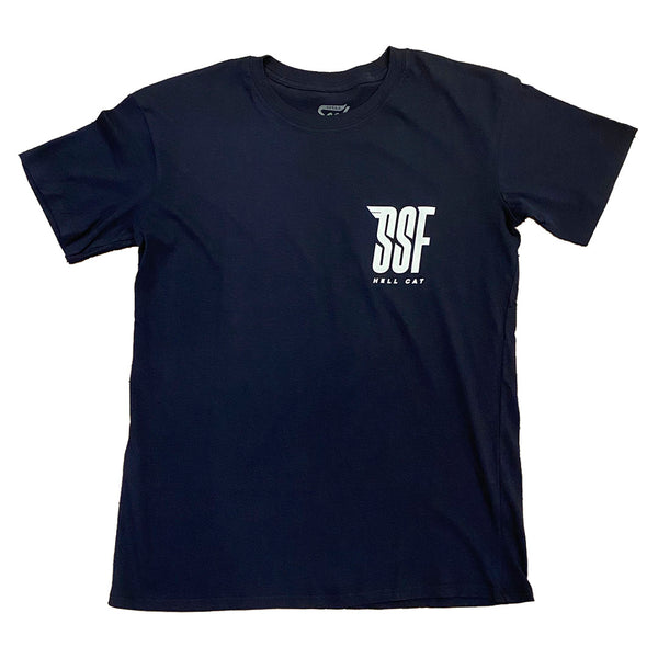 Hell Cat T-Shirt Youth NAVY
