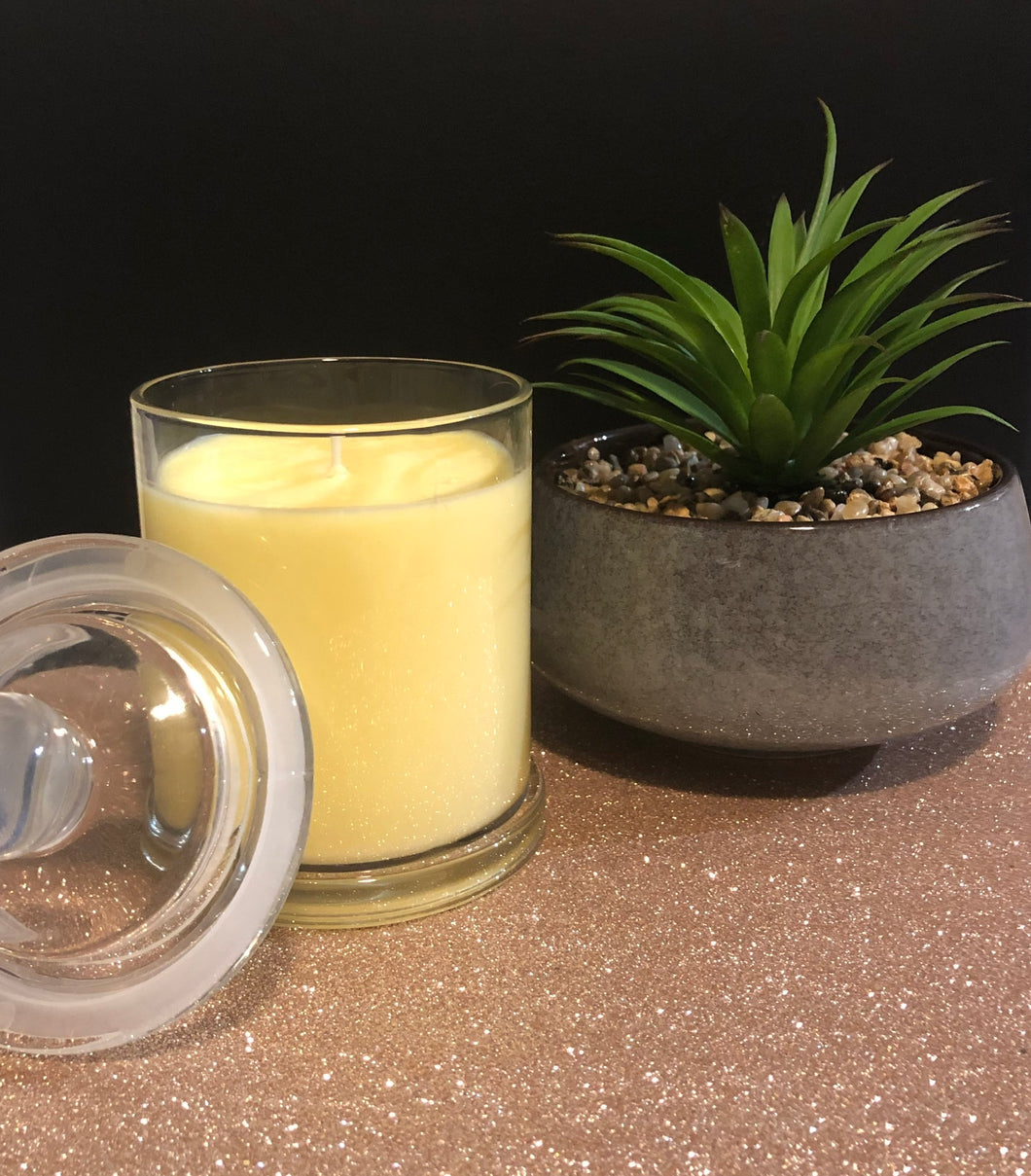 Pineapple Driftwood Soy Candle
