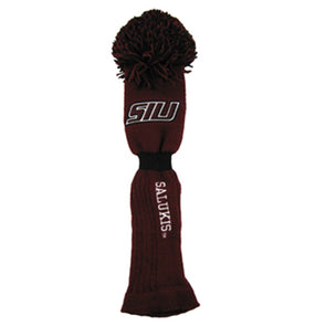 SIU Salukis Golf Club Head Cover With Pom