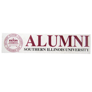 Southern Illinois University Alumni Seal Static Cling Decal