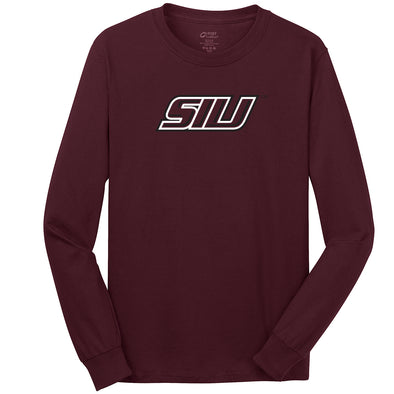 SIU Salukis Logo Youth Long Sleeve T-Shirt