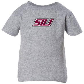 SIU Salukis 710 Branded® Logo Toddler T-Shirt - Grey