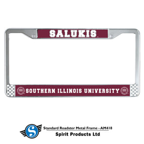 SIU Salukis MCM® Salukis Chrome License Plate Frame