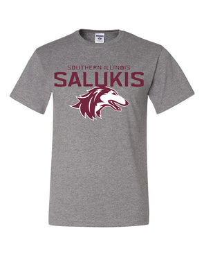 NEW 2019 ATHLETIC LOGO SOUTHERN ILLINOIS SALUKIS SHORT SLEEVE T-SHIRT