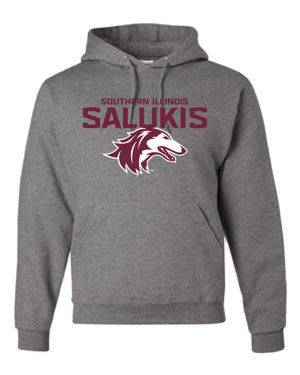 NEW 2019 ATHLETIC LOGO SOUTHERN ILLINOIS SALUKIS HOOD