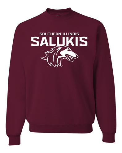 NEW MAROON 2019 ATHLETIC LOGO SOUTHERN ILLINOIS SALUKIS CREW