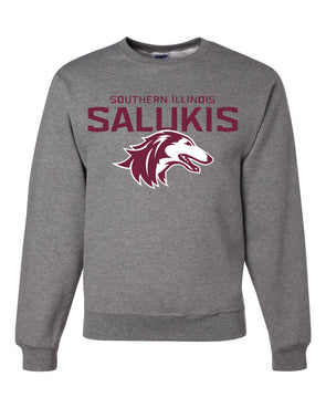 NEW 2019 ATHLETIC LOGO SOUTHERN ILLINOIS SALUKIS CREW