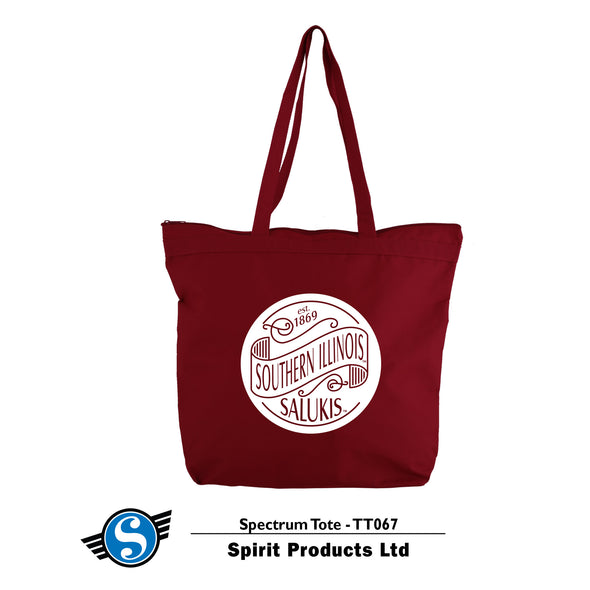Southern Illinois Canvas Tote Bag
