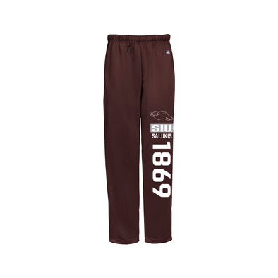 SIU Salukis Badger Open Bottom Sweatpants