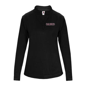 SIU Salukis Badger Dri-Fit Women's 1/4 Zip