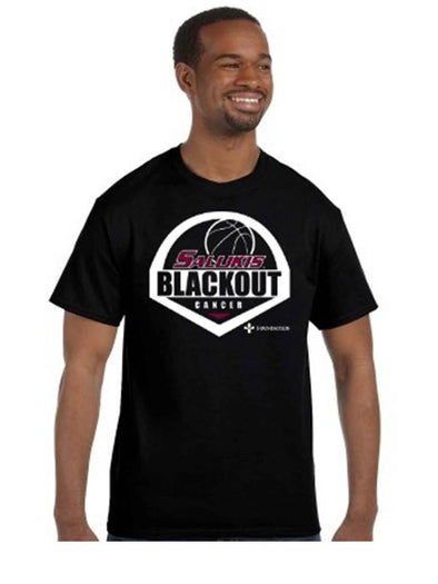 SIU Salukis CT® Basketball Black Out T-Shirt