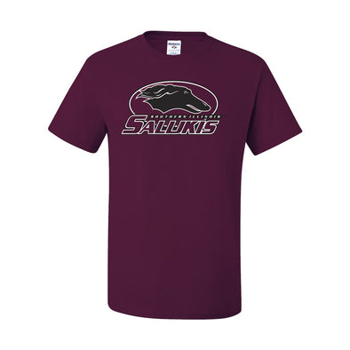 SIU Salukis Athletic Logo Maroon T-shirt