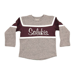 Kids Salukis Terry Fleece Crew Sweatshirt