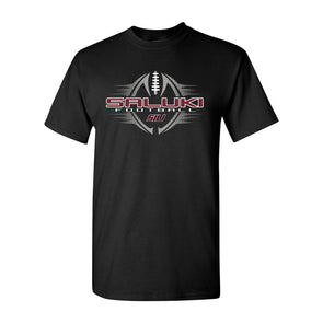 SIU Football Black Design T-shirt Short Sleeve