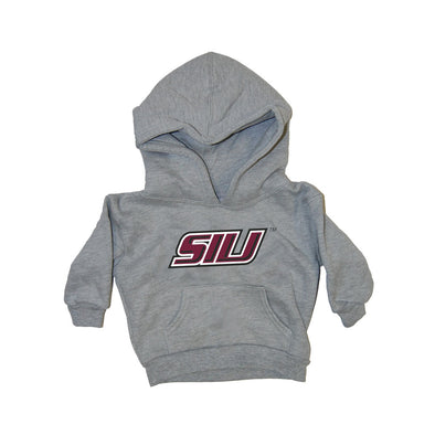 SIU Logo Grey Infant-Toddler Hoodie