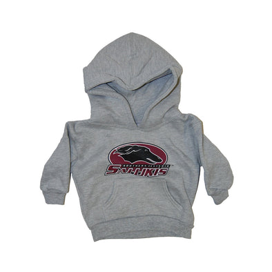 Siu Salukis Grey Youth Hood