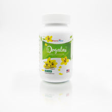 Orgalax Senna 8.6mg capsules - Certified Organic, Made in The USA, 120 Clear Vegetarian Capsules