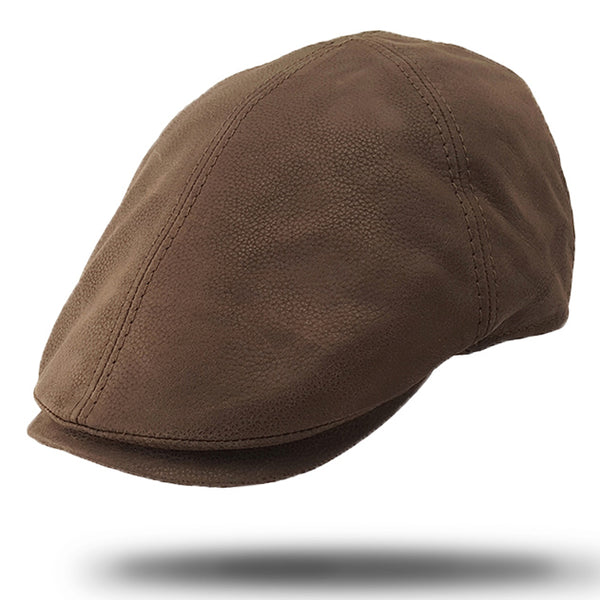 Premium Leather Ivy Cap