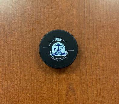 Official Game Puck - 25th Season - 2018-19