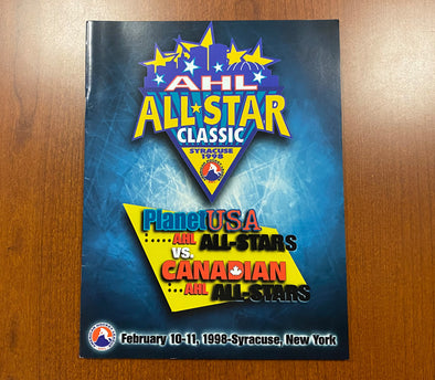1998 AHL All-Star Classic Program